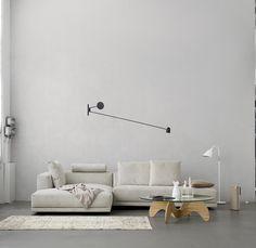 lubi silver grey sleeper daybed | grau, tagesbetten und silber, Innenarchitektur ideen