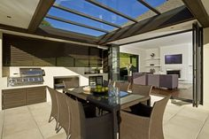 Home Design by Design Construction Home #bbq #terrace #backyard