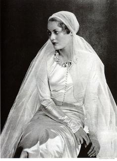 Chanel wedding gown 1932-1933