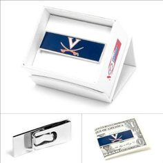 """File this under """"things a wahoo needs"""" University of Virginia Cavaliers Money Clip"""