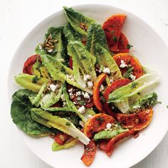 Chili-Lime Roasted Butternut Salad
