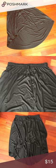 NWT American Eagle High Low Black Skirt Super Cute and New! Elastic Drawstring Waist. 💝Bundle and Save!💝 American Eagle Outfitters Skirts High Low
