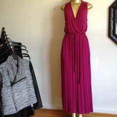 "CLOSET ESSENTIAL MAXI DRESS CLOSET ESSENTIAL MAXI DRESS WITH ROPE DETAIL. BUST 36"" WAIST ELASTIC WITH BELT LENGTH 58"" Kut From The Kloth Dresses Maxi"