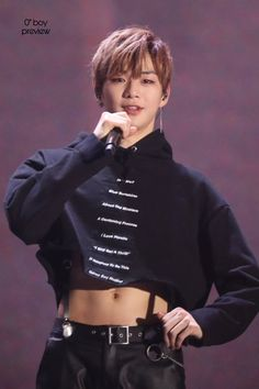 190127 Concert 'Therefore' Last Day Mens Crop Top, Daniel K, Half Shirts, Kpop Guys, When You Smile, Asian Boys, 3 In One, Gorgeous Men, Pretty Boys