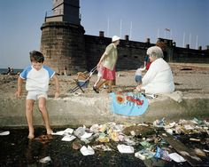 Martin Parr GB. England. New Brighton. From 'The Last Resort'. 1983-85.