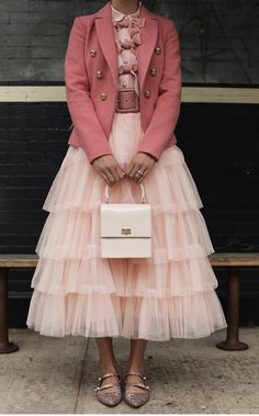 Blair discusses the tulle skirts that are in her upcoming Atlantic-Pacific x Halogen collection - available exclusively at Nordstrom on October Pink Outfits, Skirt Outfits, Cute Outfits, Atlantic Pacific, Look Fashion, Fashion Outfits, Womens Fashion, Fall Fashion Colors, Lolita Fashion