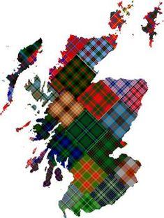 Scottish District Tartans | ScotClans | Scottish Clans