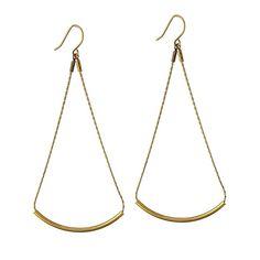 Effortless Fashion Earrings | Curvette | Gold – Grayling