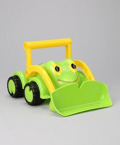 Fact: Outdoor play is a summertime necessity, especially for the littlest of adventurers. What red-blooded American toddler wouldn't love this colorful Froggy Bulldozer? Ready to push, shovel, and lift…this whimsical construction vehicle is perfect for any job site. The sandbox is practically calling our names! Call to order (406) 294-1717.