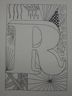 Miss Young's Art Room: 5th Grade Zentangles
