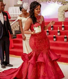 Send off dress African Prom Dresses, Unique Prom Dresses, Latest African Fashion Dresses, African Print Fashion, African Dress, Party Dresses, African Traditional Wedding Dress, Traditional Wedding Attire, African Wedding Attire