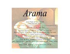 Arama - Firstnamestore