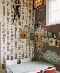 love the words on the wall