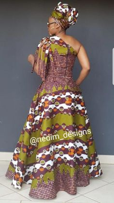 Top African Print Maxi Dresses 2018 - Our Nail African Maxi Dresses, African Attire, African Wear, African Women, African Fashion Designers, African Print Fashion, Africa Fashion, African Traditional Dresses, Traditional Outfits