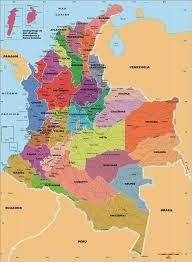 Map of Colombia Ecuador, Countries In America, Map Pictures, Colombia Travel, Map Vector, The Beautiful Country, West Indies, South America, Latin America