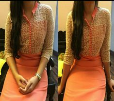 salwar kameez - Compare Price Before You Buy Churidar Designs, Kurti Neck Designs, Blouse Designs, Dress Designs, Salwar Pattern, Kurta Patterns, Dress Patterns, Indian Attire, Indian Ethnic Wear