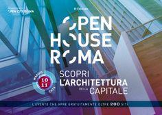 Open House Roma 10 -11 Maggio 2014