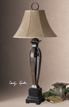 Uttermost Caballo Metal Table Lamp
