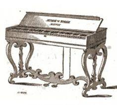 Portable Melodeon, Circa 1850