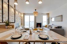 An ultra-personalized VEFA apartment, Atelier Germain - Côté Maison Decor, Apartment Living, Kitchen Furniture, Small Spaces, Interior, Apartment Interior, Apartment, Home Decor, Interior Design
