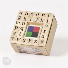 Collected & Co. by Micador Stamp Set - ABC Lowercase $15.00