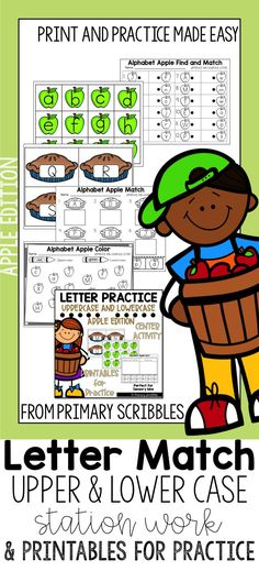 Alphabet Letter Match Uppercase and Lowercase Centers and Printables Teaching Sight Words, Sight Word Activities, Motivational Activities, Reading Skills, Guided Reading, Math Challenge, Math Assessment, Framed Words, Math Graphic Organizers