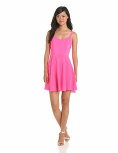 Amanda Uprichard Women's Picnic Dress, Hibiscus, Small