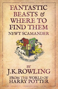 Fantastic Beasts And Where To Find Them Cover