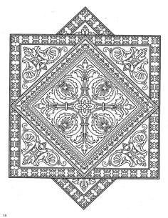 1000 images about zentangle coloring pages on pinterest for Zentangle tile template