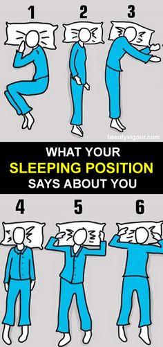 What Your Sleeping Position Says About You