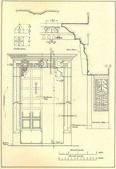 Сиена. Дверной проем в Палаццо Публико. Двери и порталы в итальянской архитектуре