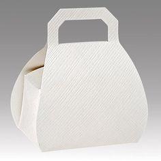 5 Handtaschen Schachteln weiß von Der Schachtel Shop auf DaWanda.com
