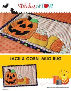 Jack and Corn Mug Rug Kit	SOL3423