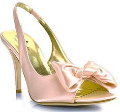Kate Spade Sarah - Rose Satin Slingback Pump on shopstyle.com