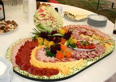 Platter for a wedding reception