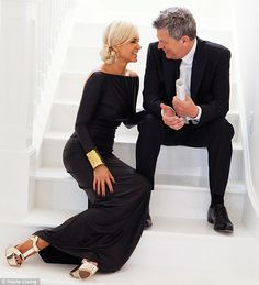 Stairway to heaven: Yolanda Foster's music producer husband David has opened up about how they met in an intimate interview and photoshoot in the July/August edition of Haute Living Los Angeles