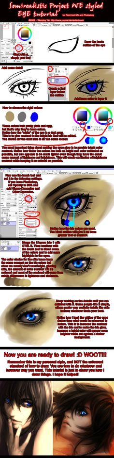 http://www.photoshoplady.com/tutorial/draw-a-realistic-eye-for-cartoon-character/937