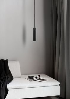 The minimalistic Tilo series oozes of Nordic elegance with the slim design and clean lines. The thin lamp head emits a precise downward light, and with the unmistakable character feature of ash wood and matte metal, Tilo is the perfect addition to the stylish and modern home. #Living Room #Interior Design #Inspiration #Décor Ideas #Nordic #Danish Design #Scandinavian #Modern #Minimalist #Pendant #Ceiling Lamp #Lighting Pine Table, Black Table Lamps, Wooden Tops, Types Of Lighting, Simple Lines, Clean Lines, Floating Nightstand, Bar, Elegant