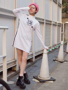 Moeka Nozaki wearing Tokyo Label, Little Sunny Bite