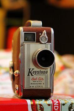Vintage 8mm Keystone camcorder