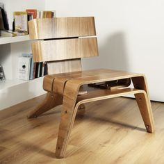 Bentwood Lounge Chair With White Walls, mia birch bentwood lounge chair, scandinavian bentwood lounge chair ~ Home Design Diy Furniture Using Pallets, Pallet Furniture Designs, Wooden Pallet Furniture, Home Furniture, Laminate Furniture, Wood Laminate, Osb Wood, Modern Outdoor Chairs, My Living Room