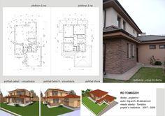 House design - by ARCline studio, www. Floor Plans, House Design, Studio, Atelier, Studios, Architecture Design, House Plans, Home Design, Floor Plan Drawing