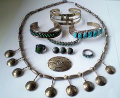 Sterling Silver Native American Jewelry