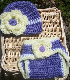 Super Cute Baby Girl Crochet Diaper Cover by TjCrochetCreations, $20.00
