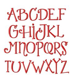 Dimples Machine Embroidery Font Sizes 1234 BUY 2 by LilliPadGifts