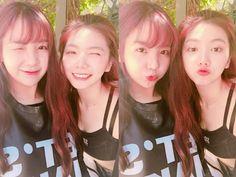 Raina and Kaeun - After School Kpop Girl Groups, Kpop Girls, Call Orange, Orange Caramel, Pledis Entertainment, After School, Red And Blue, Rapper, First Love