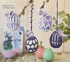 Galeria rozmaitości: Wzory szydełkowe-Wielkanoc Owl Basket, Easter Crochet Patterns, Ornaments, Pillows, Holiday, Blog, House, Accessories, Ideas