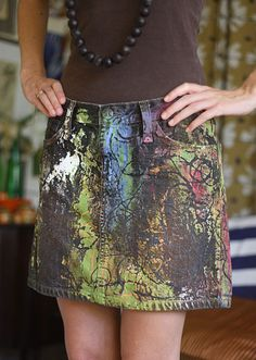 Love this project! We wanna make it with our Clear Gel Tacky and our Soft Fabric Paints!