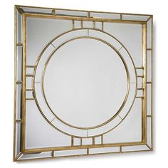 Regina Andrew Square Beveled Mirror