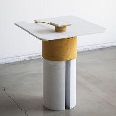 Produktdesign: Naturstein   Elektrizität   Kommunikation